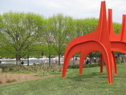 Modern art decorates Washington, D.C.'s spacious, publicly owned spaces