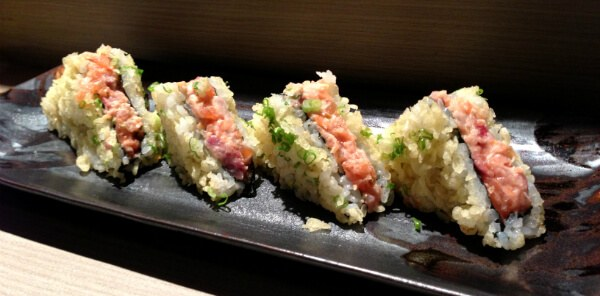 Sushi Sandwich at Isao Bangkok