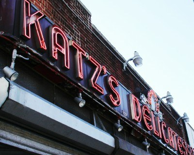 Katz's Deli, New York City (photo by Sheila Scarborough)