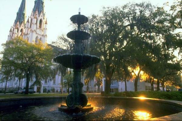 Lafayette Square (courtesy Savannah CVB)