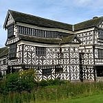 little moreton hall Cheshire england tudor architecture