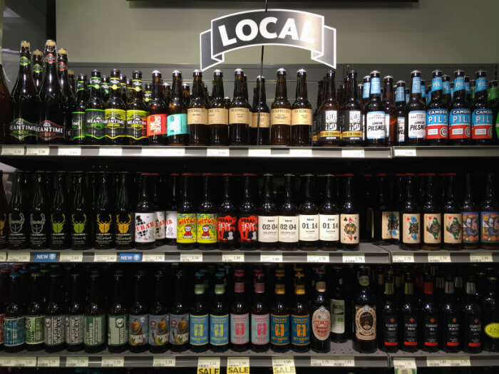 london craft beer bottle shops