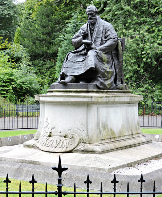 lord kelvin glasgow by thomas nugent