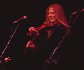 Mairead Ni Mhaonaigh of Altan by Kerry Dexter
