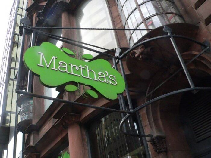 marthas cafe glasgow scotland