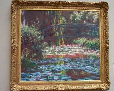 Monet at the Art Institute, Chicago (Scarborough photo)