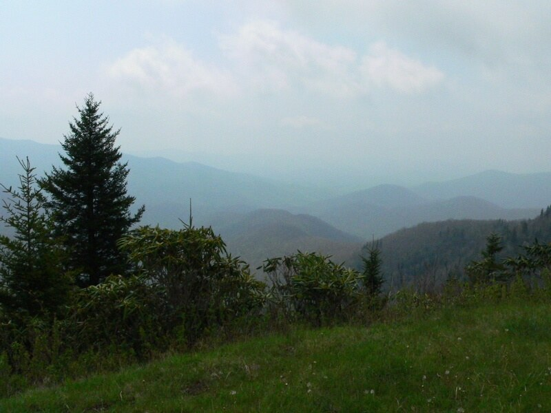 north carolina mountains copyright kerry dexter