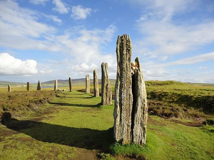 orkney ring of brodgar summer