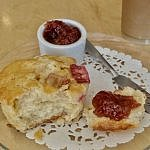 Ottawa scones and jam at Scone Witch