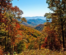 great smoky mountains autumn appalachia