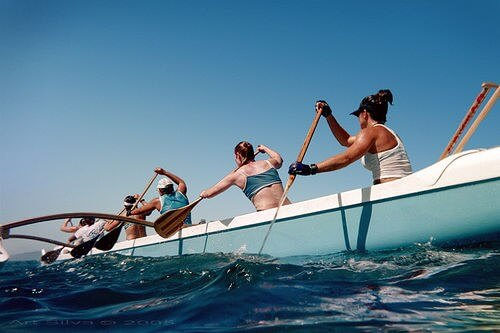 Outrigger canoe (courtesy ART at flickr's Creative Commons)