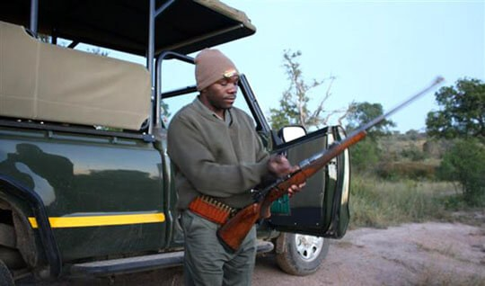 Pat Masabo, South African Bush Guide