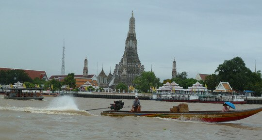 Wat Arun on the Chao Phaya River