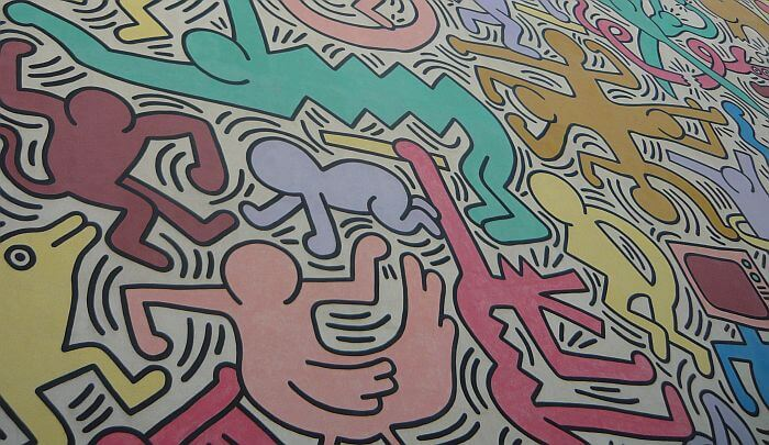 Keith Haring in Pisa Italy