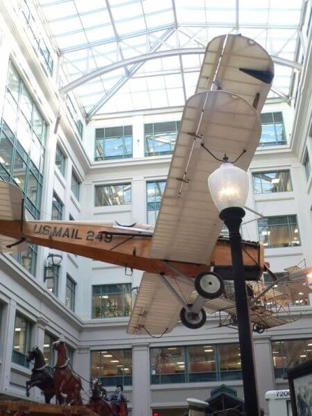plane national postal museum washington dc by kerry dexter
