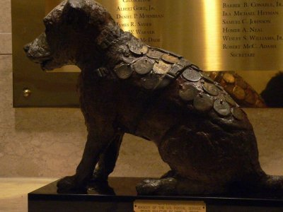 mail dog owney national postal museum washington by kerry dexter