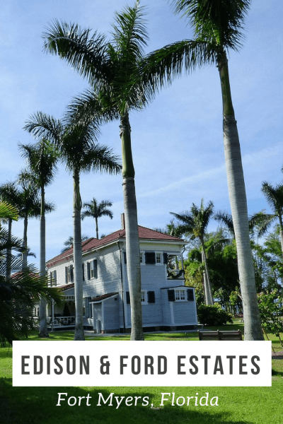 Tour the winter estates of inventors Thomas Edison and Henry Ford in Fort Myers, Florida. Restored homes and a full museum.