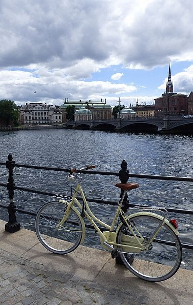 Bike-friendly Stockholm for a beautiful summer vacation break in Sweden's capital city