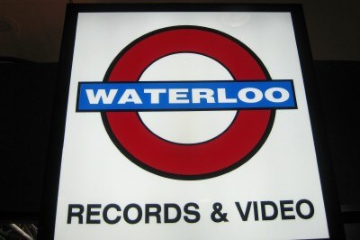 Waterloo Records in Austin, Texas (photo by Sheila Scarborough)