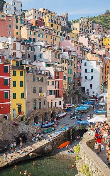 Go from Florence to Cinque Terre to explore some of the most picturesque seaside towns in Italy
