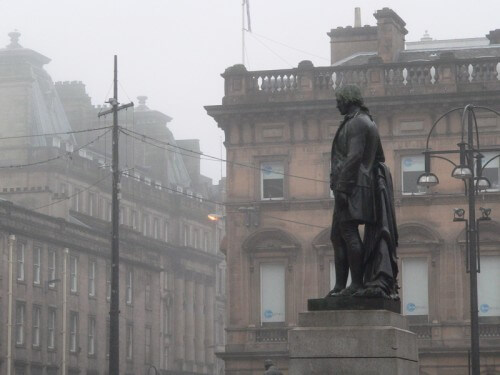 robert burns george square glasgow copyright kerry dexter