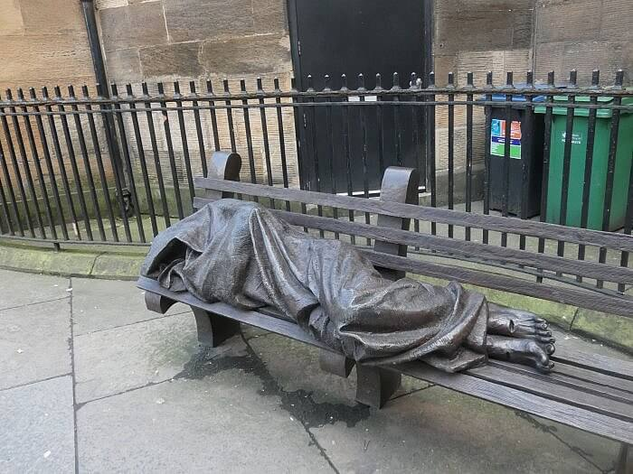 rough sleeper jesus glasgow kerry dexter