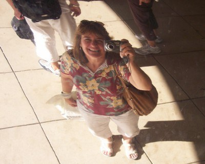 Reflected in the Bean sculpture, als