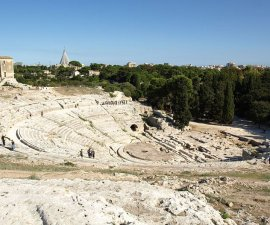 Syracuse in Sicily, a UNESCO World Heritage site