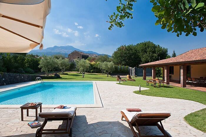 villa for rent in Sicily