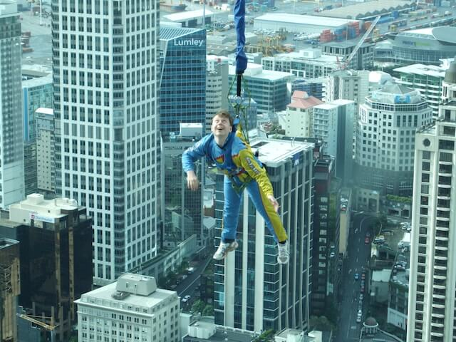 sky tower bungee