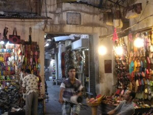 Marrakech Souk. Photo by Alison Stein Wellner