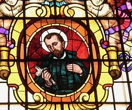 st peter claver window by k dexter