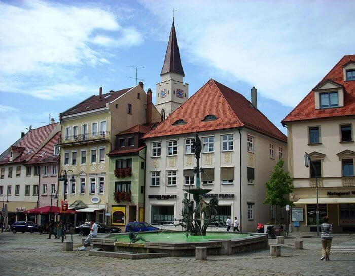 Ehingen historic town in southern Germany