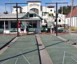 Shuffleboard Club St. Pete Florida