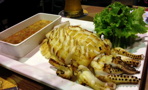 Tawandang German Brewery Squid