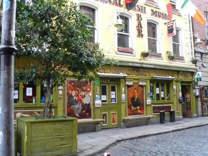 temple bar dublin ireland pub by kerry dexter