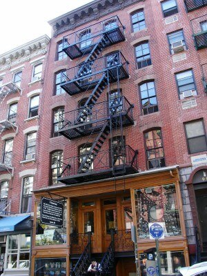 Lower East Side Tenement Museum, 97 Orchard Street, New York City (photo by Sheila Scarborough)