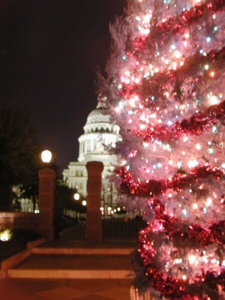 Texas Christmas Tree Austin by Kerry Dexter