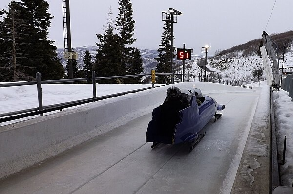Park City bobsled