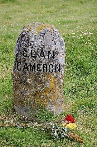 archaeology clan marker culloden scotland