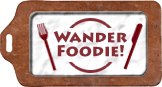 Wander Foodie badge