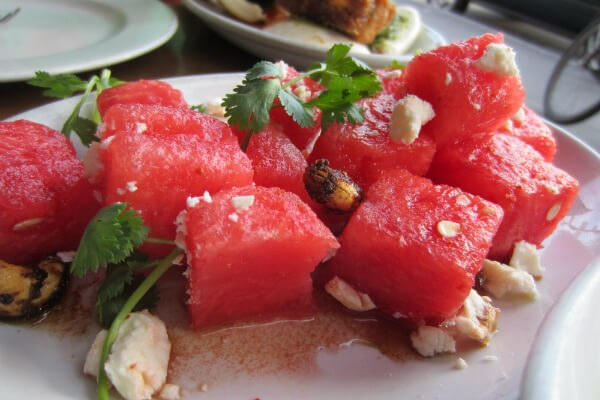 Mrs. Kim's Watermelon Salad