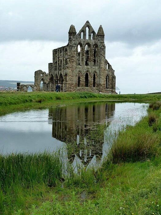 whitby abbey yorkshire tudor england by rob farrow