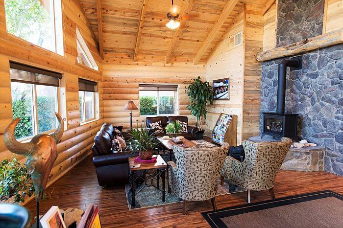 campground visitor center lounge
